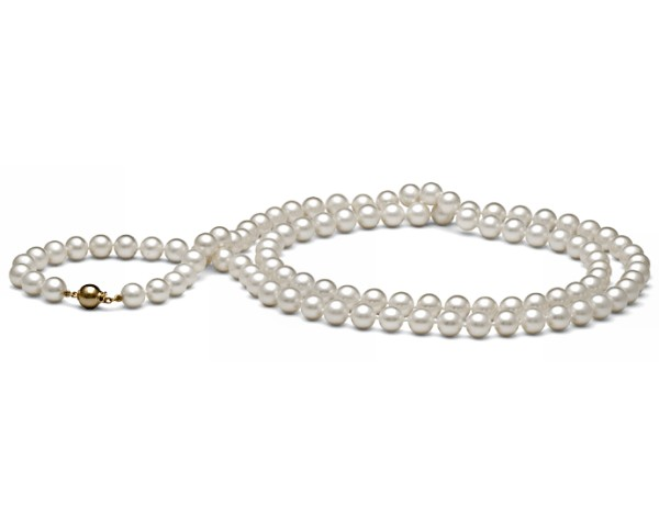 Long Pearl Necklace at SelecTraders