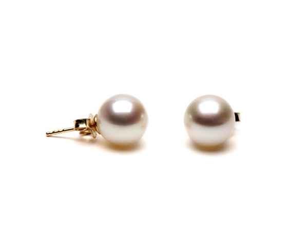 Cultured pearl earrings at SelecTraders