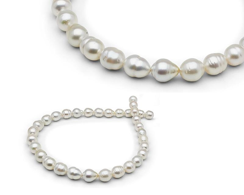 White South Sea Pearl Necklace at Selectraders