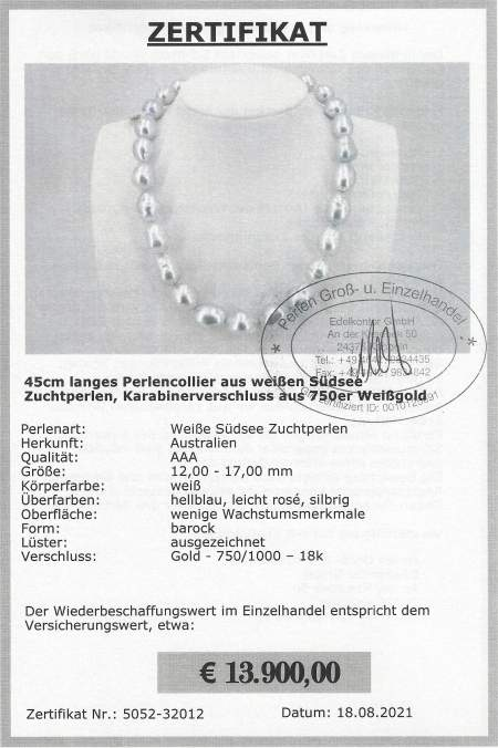 Large baroque pearls at Selectraders