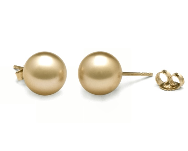 Ear studs with South Sea pearls from Selectraders